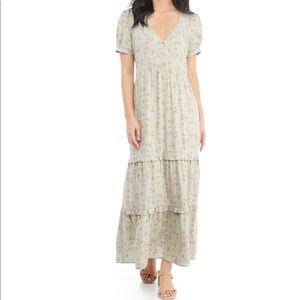 ❤️NWT $53 Tiered Maxi Dress XS